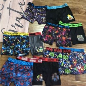 Boys underwear size 6 lot of 13 pair pre-loved